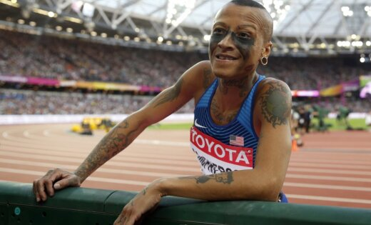 Спортсменка лизбиянка