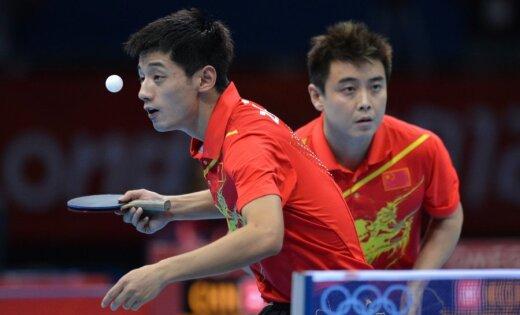Galda tenisisti izcīna Ķīnai kārtējo zelta godalgu Londonas Olimpiādē