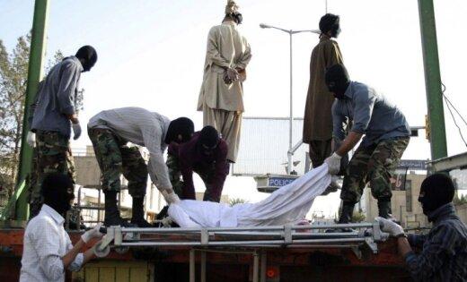 Наказания за гомосексуализм в иране