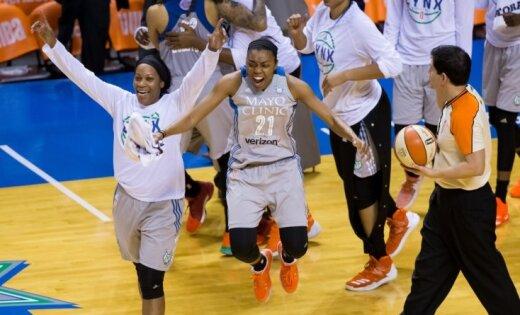 Minesotas 'Lynx' ceturto reizi kļūst par WNBA čempionēm