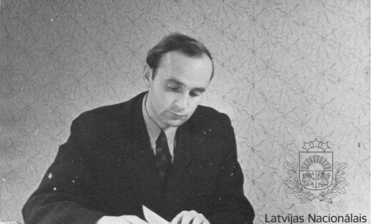 Arhīva foto: Latgaliešu dzejniekam Andrim Vējānam - 90