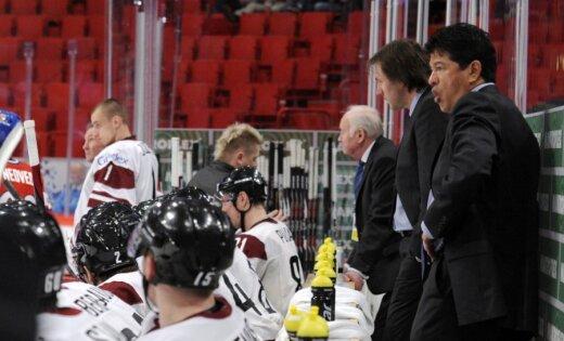 Nolans: Latvijas hokejisti pelnījuši uzslavas par nodemonstrēto sniegumu