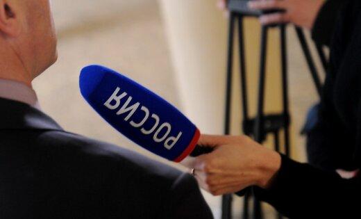 """В Литве журналистов телеканала """"Россия"""" не пустили на закрытый форум"""
