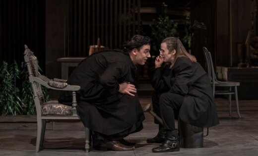 Rīgā pēdējo reizi rādīs Valmieras teātra izrādi 'Meistars un Margarita'