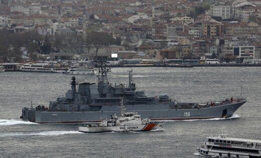 ВЭгейском море 30декабря столкнулись десантный корабль «Ямал» исухогруз