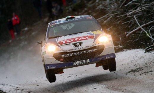 'Rally Liepāja' pirmais numurs piešķirts Kreigam Brīnam