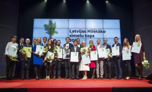 Foto: Nosaukti Latvijā mīlētākie zīmoli; 'Delfi' – joprojām ietekmīgākais sociālajos medijos