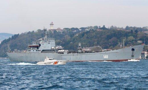 СМИ: в Средиземном море замечен российский корабль с военной техникой