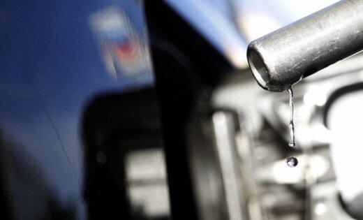 Latvijā realizētās degvielas apjoms četros mēnešos pieaudzis par 5,5%