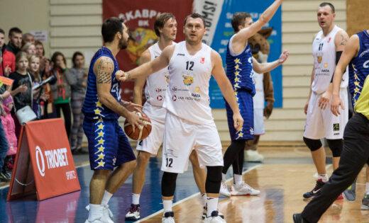 'Jēkabpils' basketbolisti otrajā puslaikā salauž 'Ogre'/'Kumho Tyre' pretestību