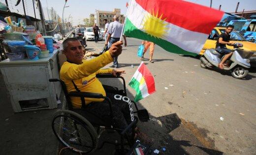 Irāka grib aizturēt Kurdistānas neatkarības referenduma rīkotājus