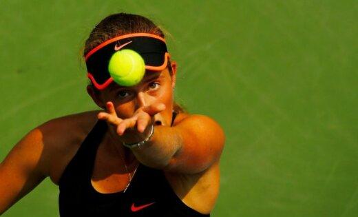 Ostapenko sasniedz Dubaijas WTA turnīra atlases otro kārtu; Sevastovai neveiksme