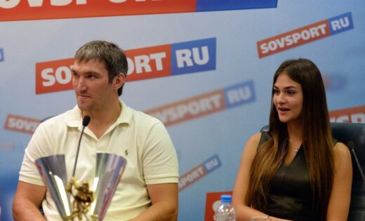 Александр Овечкин женился наАнастасии Шубской