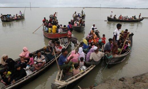 Около 100 000 мусульман-беженцев изМьянмы поселят нанеобитаемом острове