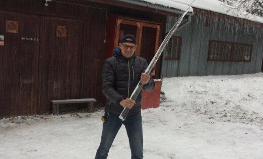 Ziņo 'Delfi Aculieciniekam' par dzīvībai bīstamām lāstekām un apledojumu Latvijā
