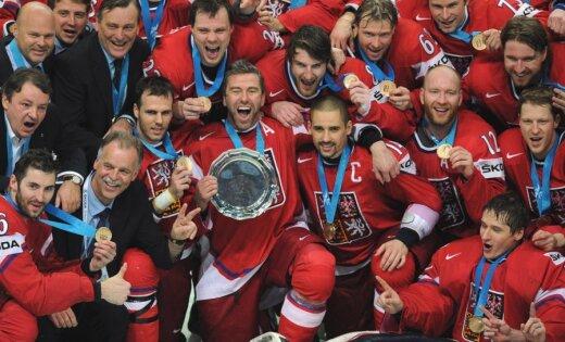 Čehija otro gadu pēc kārtas izcīna PČ bronzas medaļas