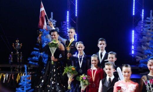 Latvijas dejotājiem sudrabs Ziemeļeiropas čempionātā sporta dejās