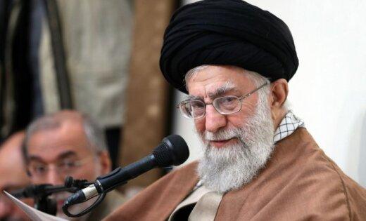 Irānas augstākais līderis protestos vaino valsts ienaidniekus