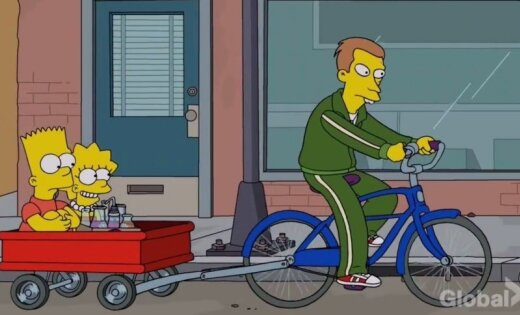 'The Simpsons' jaunākajā sērijā iesmej par latviešu akcentu