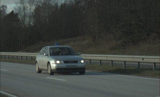 На трассе Рига— Даугавпилс засекли лихача, несшегося на скорости 176 км/ч