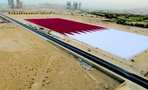 Vāc finansējumu pasaules rekorda īstenošanai – lielākajam Latvijas karogam