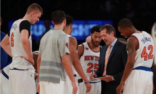 Hornačeks visdrīzāk turpinās trenēt 'Knicks'; viņš cer uz brīvajiem aģentiem starpsezonā