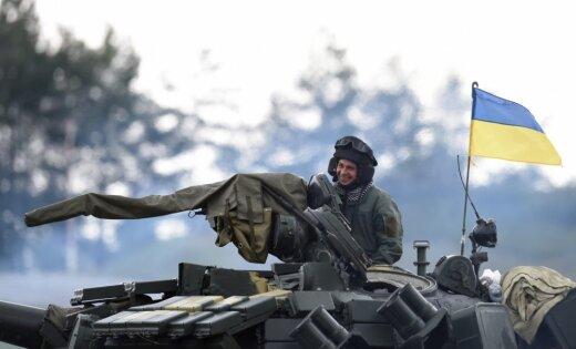Latvijas bruņoto spēku instruktori Ukrainā turpina apmācīt karavīrus