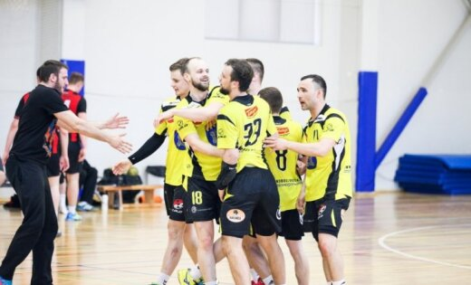 'Tenax' spēlē neizšķirti, bet 'Celtnieks' cieš neveiksmi Baltijas handbola līgas mačos