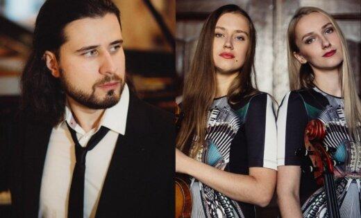 Andrejs Osokins muzicēs kopā ar māsām Kristīni un Margaritu Balanas