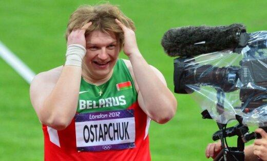 Baltkrievija apstrīdēs olimpiskā zelta atņemšanu lodes grūdējai Ostapčukai