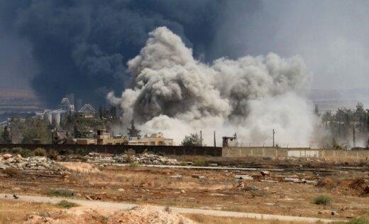 ВВС США поднялись назащиту американского спецназа отсирийских бомбежек
