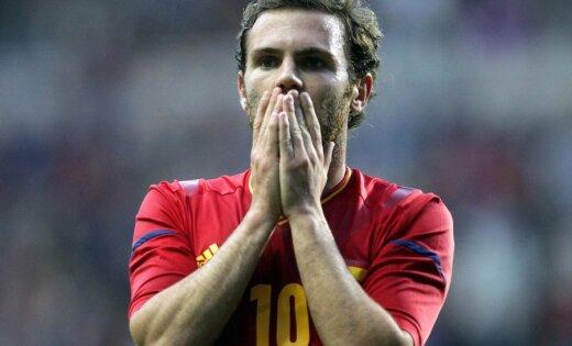 Spānijas futbola izlase zaudē cerības iekļūt olimpisko spēļu ceturtdaļfinālā