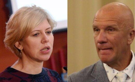Apturēta Kalnozola darbība Latvijas Zaļajā partijā saistībā ar neētisku uzvedību pret Čakšu