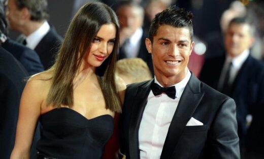 Роналдо секс со своей женой