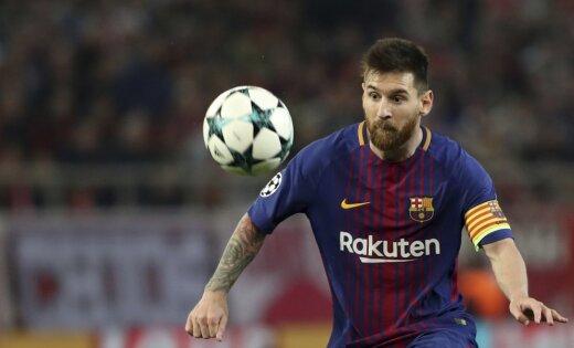 ФК «Барселона» объявил опродлении договора  сЛионелем Месси до 2021г.