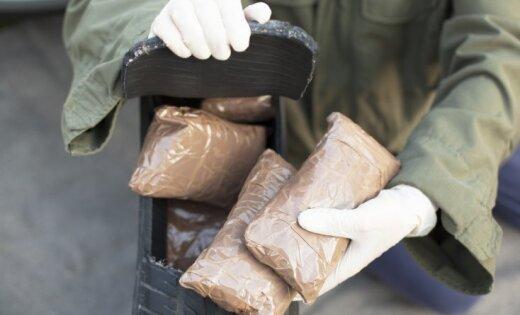 Кравалис: контрабанда наркотиков раскрывается каждый второй день