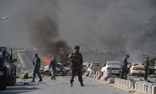 ВКабуле около посольства произошел взрыв: Десятки погибших