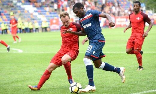 'Spartaks' UEFA Čempionu līgas kvalifikāciju sāk ar cienījamu neizšķirtu pret 'Crvena zvezda'
