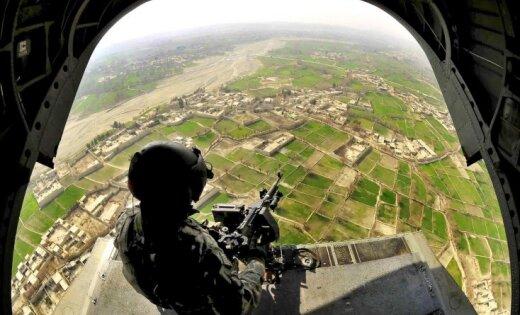 Afganistānas gaisa spēku triecienā kļūdas dēļ nogalināti 10 drošības spēku pārstāvji