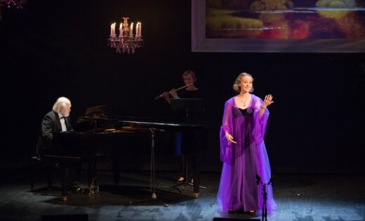 Foto: Valmieras teātra gadumijas koncerts 'Latviešu romantiķi'
