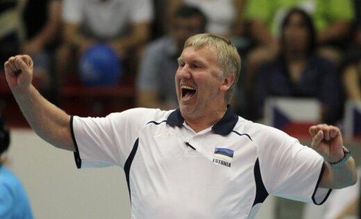 Ļoti svarīga būtu dalība Eiropas līgā, uzsver jaunais volejbola izlases galvenais treneris Kēls