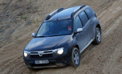 'Dacia Duster' viedokļu kokteilis