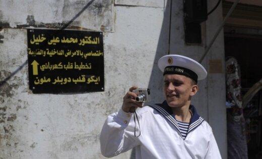 Спутники зафиксировали вывод российских кораблей с сирийской базы Тартус