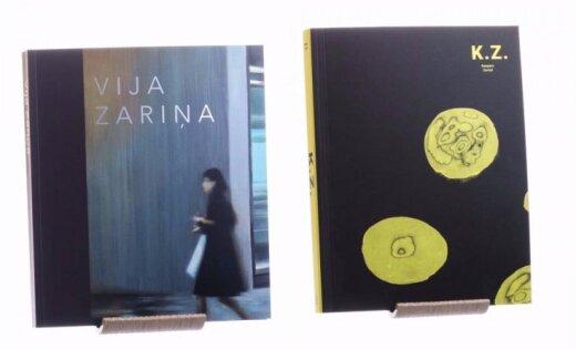 Izdoti mākslinieku Vijas Zariņas un Kaspara Zariņa darbu albumi