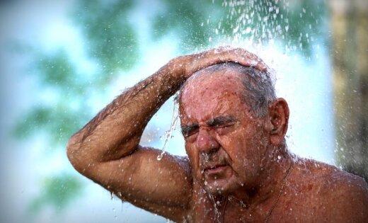 В субботу в Латвии зафиксирована рекордная жара