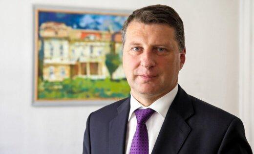 Вейонис принес присягу и вступил в должность президента Латвии