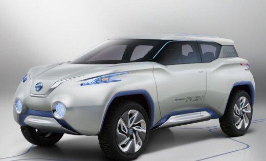 'Nissan' apvidus automobilis ar ūdeņraža degvielu