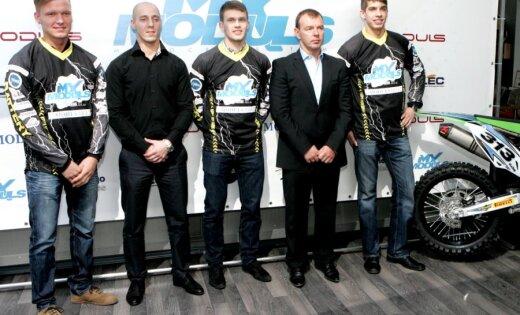 Motosporta komanda 'MX Moduls' tieksies kļūt par līderiem Latvijā