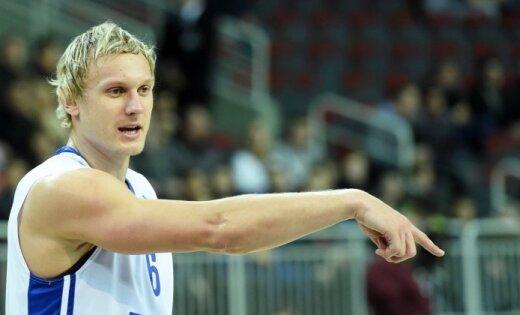 Timma ar 27 punktiem kaldina 'Zeņit' uzvaru pār 'Lietuvos Rytas'