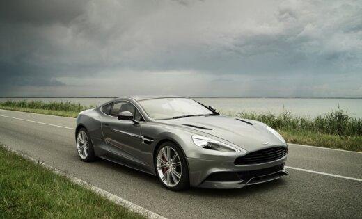 Великолепный Aston Martin Vanquish во всей красе